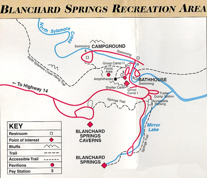 Blanchard Springs, Ozarks Folk Village   Mountain View AR