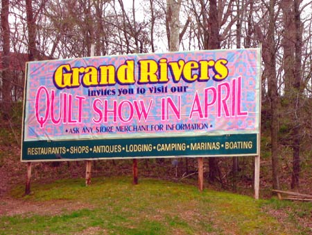 Grand Rivers Quilt Show