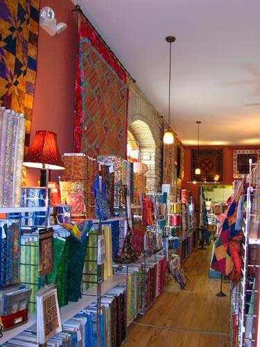 Yellow Bird Art Quilt Shop Lansing Iowa